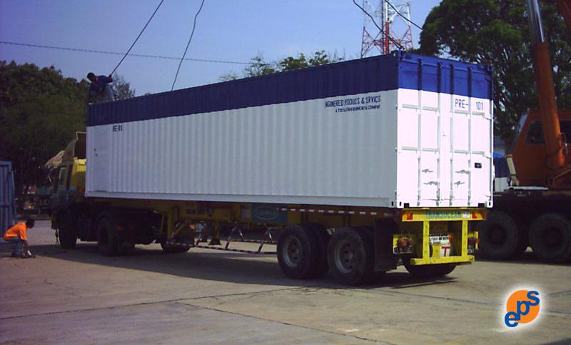 Mobile RO Unit